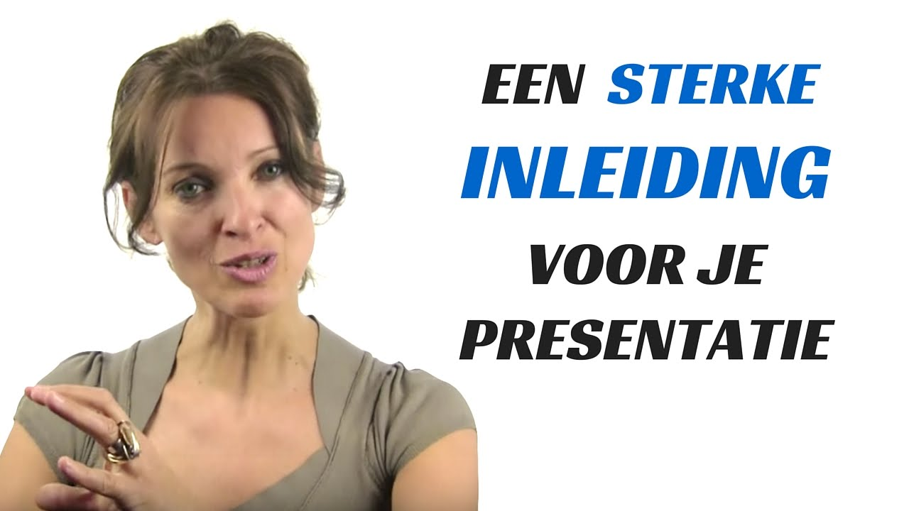 Citaten Voor Presentaties : Een goede inleiding voor presentatie youtube