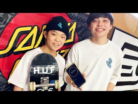 30 MINUTES WITH: TAISEI KIKUCHI @ F2O SKATEPARK! | Santa Cruz Skateboards