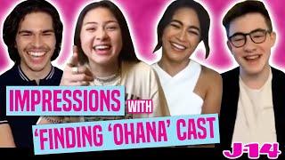Netflix's Finding 'Ohana Cast Does Impressions