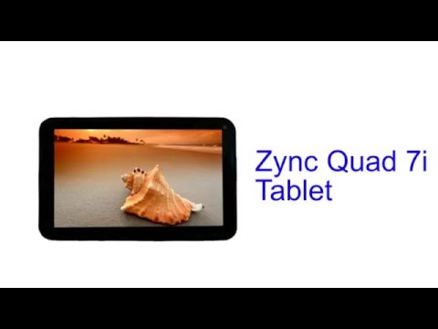 Zync Quad 7i Tablet Specification [INDIA]