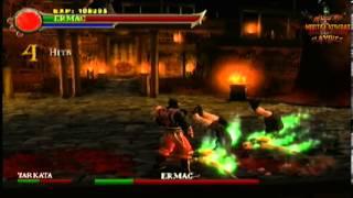 Play as Ermac *Boss Fixed Codes* (Ps2 Mortal Kombat: Shaolin Monks)