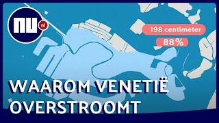 Dit is de reden waarom Venetië zo vaak overstroomt