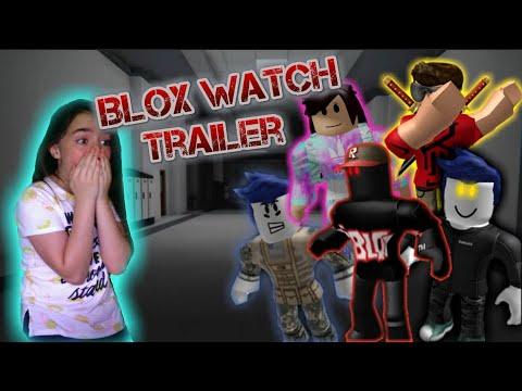 BLOXWATCH TRAILER REACTION!?! (A Roblox Horror Movie Trailer)