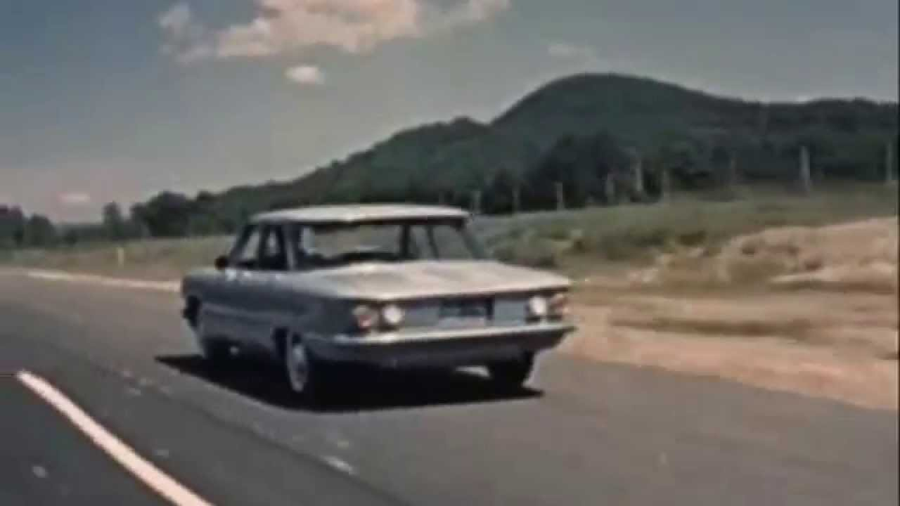 1960 Corvair Classic Car Travel Cross Country