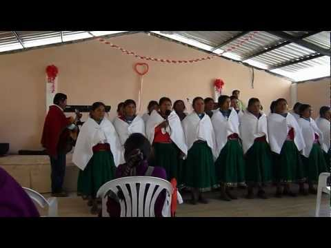 Cañari Kichwa Singers at Iltus Church Dedication