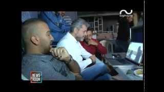 """كواليس تصوير كليب ناجي الأسطا """"ايه نعم"""" مع المخرج فادي حداد"""
