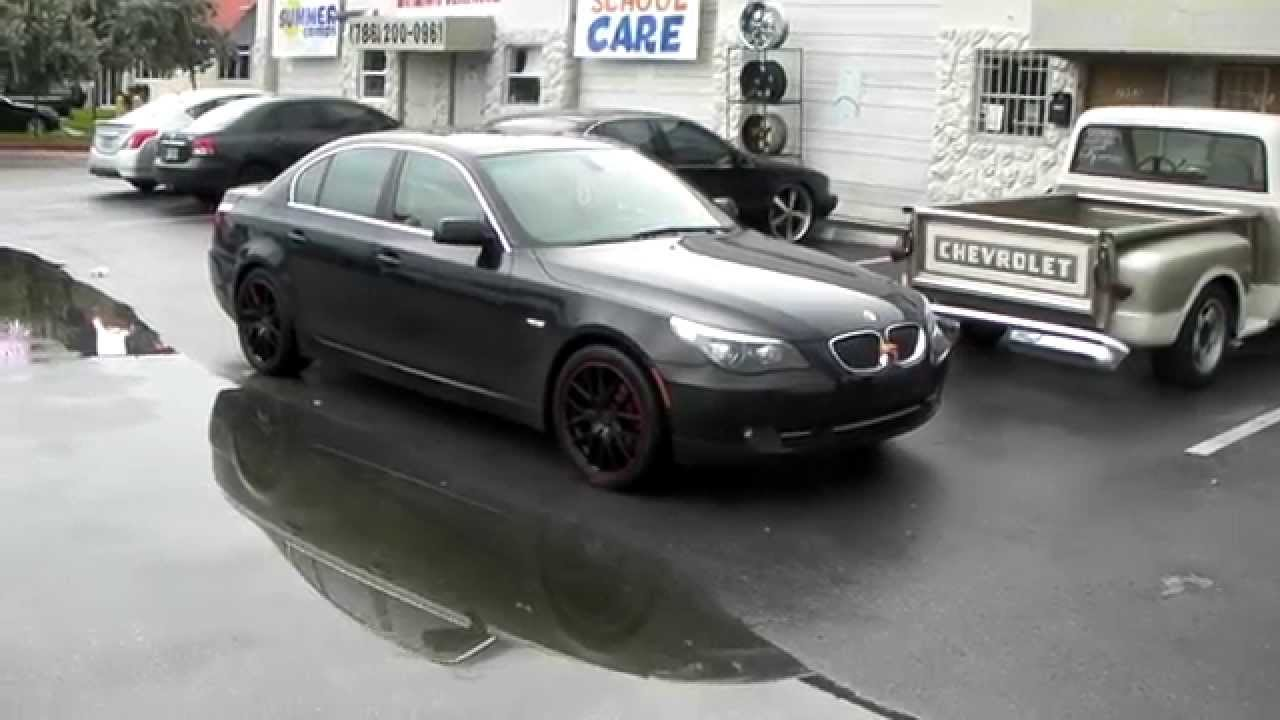 877 544 8473 18 Inch Touren TR60 Black Red Wheels 2008 BMW 5 Series Review Rims Free Shipping