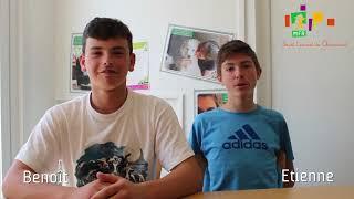 Temoignages d'élèves de 3° MFR St Laurent de Chamousset