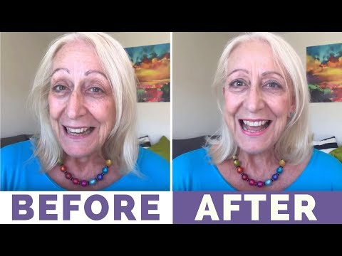 My 10-Minute Spring Makeup for Older Women Makeover - 동영상