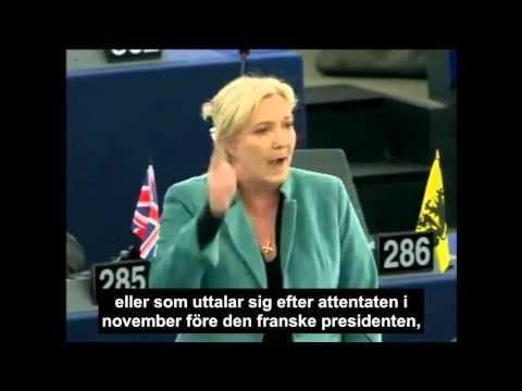 Marine Le Pen om Brexit