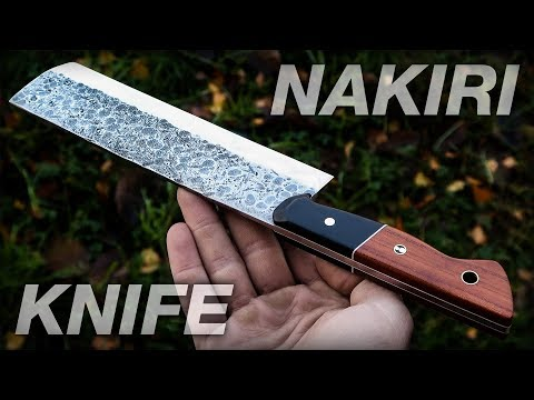 Knife Making: Nakiri Japanese Knife DIY