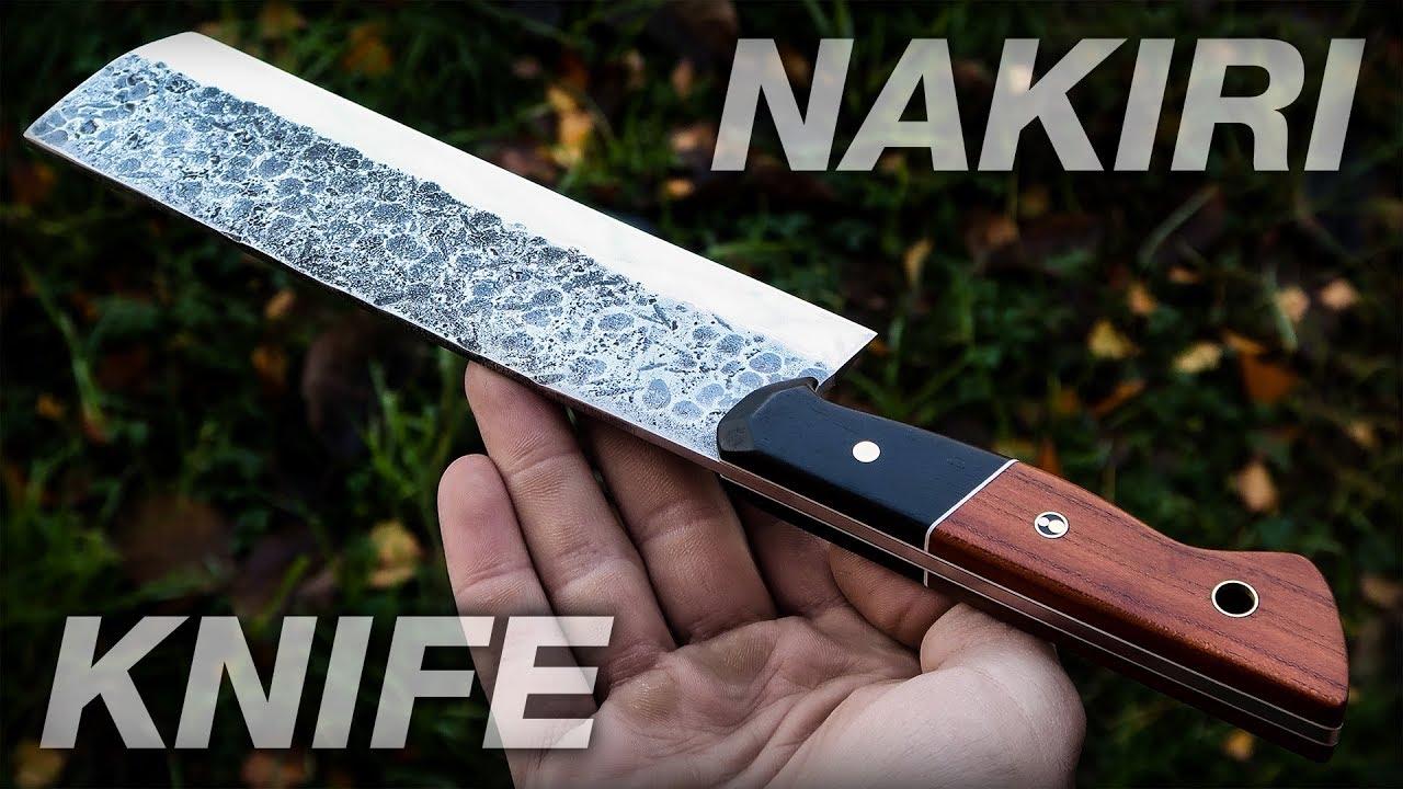 Knife Making: Nakiri Japanese Knife DIY