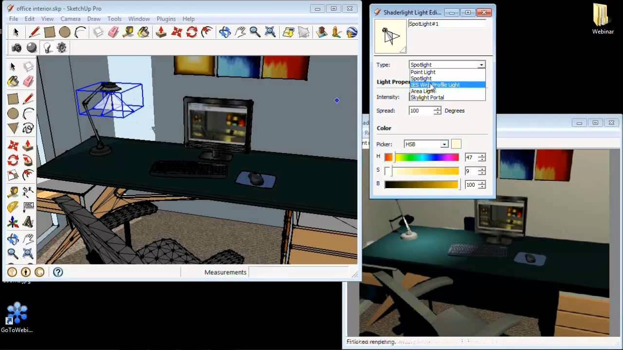 shaderlight lighting techniques webinar youtube