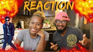 Bruno Mars - Versace On The Floor [Official Video]REACTION