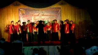EAS unchained melody PMCC4thwatch at Balayan Batangas