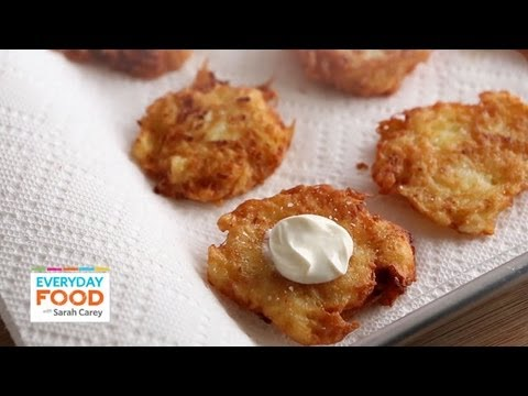 Potato Latkes   Everyday Food with Sarah Carey