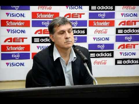 Gerardo Martino en conferencia  - Renuncia al cargo de DT de la selección paraguaya