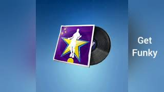 Fortnite Battle Royale Music Disc Get Funky