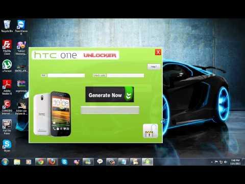 UNLOCK HTC ONE SV FREE UNLOCK SOFTWARE + TUTORIAL 2013