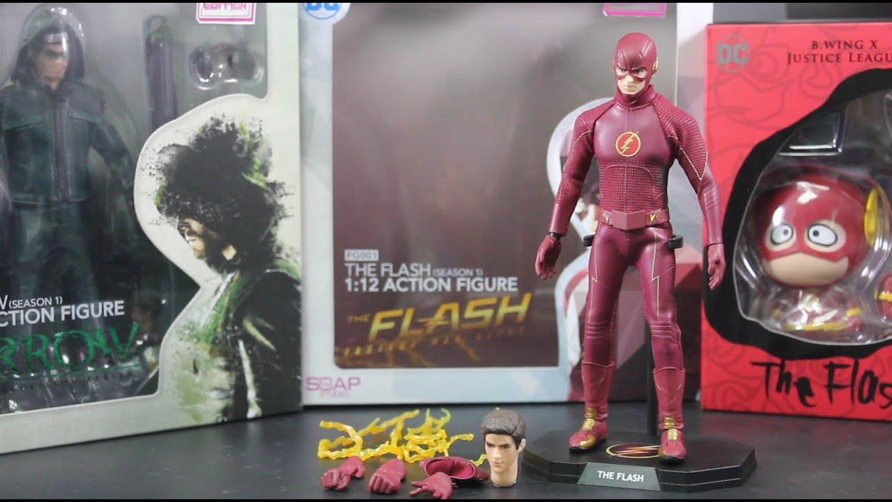 Soap Studio FG001 1//12 The Flash Barry Allen Collectible Action Figure Model