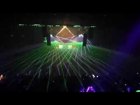 Best of Laser Show  @ REVERSE 2015 Belgium (Bass Events)