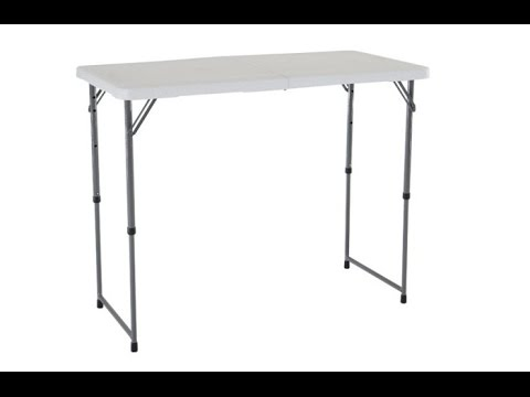 Adjustable Height Folding Table Ideas