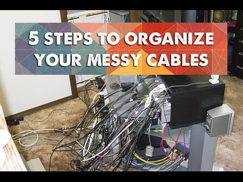 How to Clean Up a Messy Home Entertainment System - YouTube