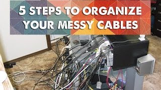 How to Clean Up a Messy Home Entertainment System