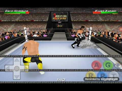 Wrestling Revolution  3D моя карьера #9 месть не удалась