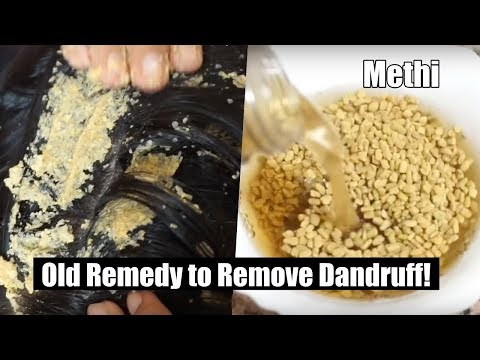 Remove Dandruff using