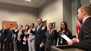 Ten Holyoke Police Reserve Officers Are Sworn In