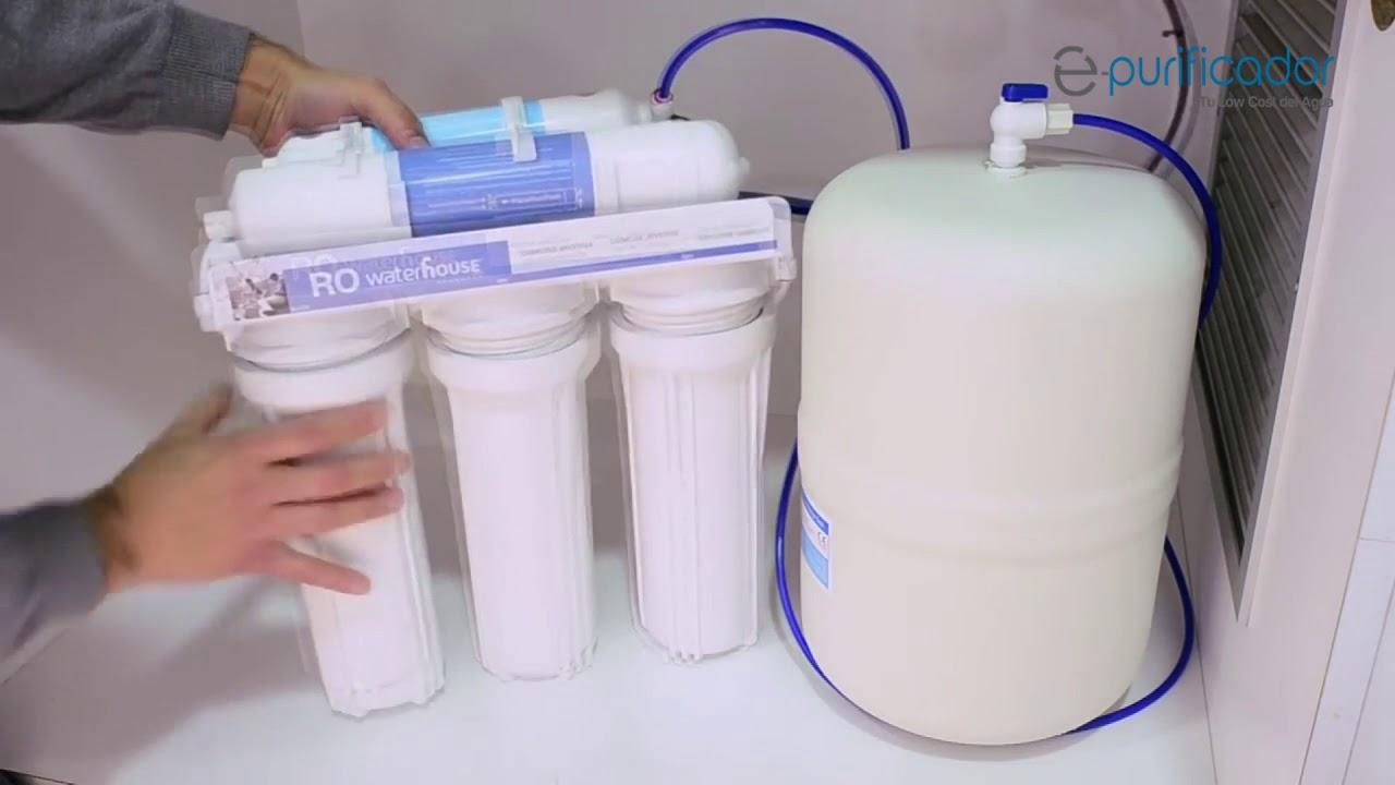 como cambiar los filtros de tu osmosis 5 etapas paso a