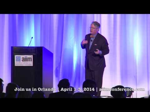 AIIM13 - Thornton May, Futurist & Dean of the IT Leadership Academy