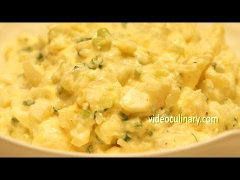 Easy Potato Salad (Southern style) Recipe – VideoCulinary