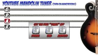 YOUTUBE MANDOLIN TUNER