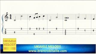 Ukulele Tab - Somewhere Over the Rainbow - Notes