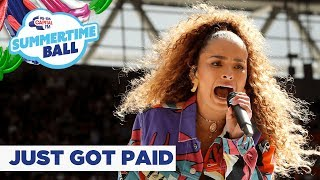 Sigala feat Ella Eyre – 'Just Got Paid' | Live at Capital's Summertime Ball 2019