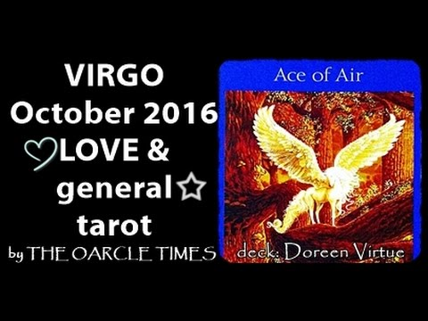 VIRGO OCTOBER 2016 FREE LOVE & general tarot & oracle-A WISH FULFILLED!