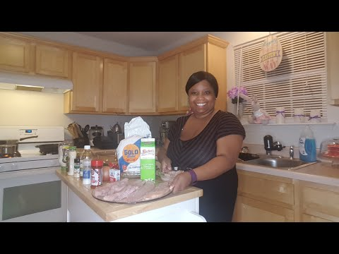 Live Cooking Show Fish Shrimp Coleslaw And Potato Salad