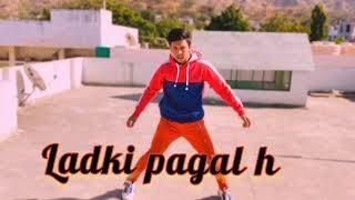 Ladki Paagal h   Dance cover   Baadshah - Paagal   Sidhmayi Dance Academy