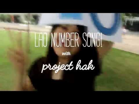 Lao Languge // LAO NUMBER SONG!