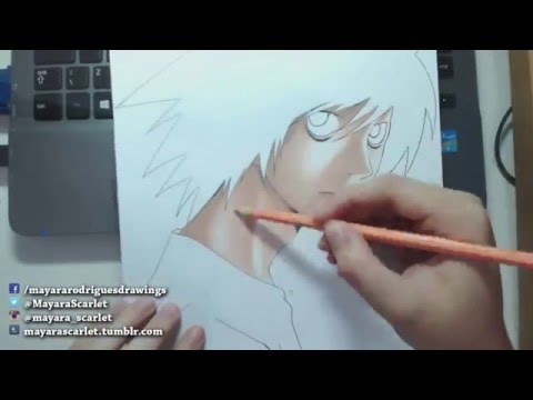 Speed Drawing - Lawliet