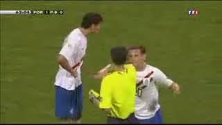Portugal vs Holland WM 2006 Fouls