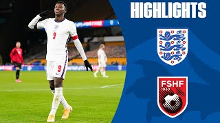 England U21 5-0 Albania U21 | Nketiah Double Helps the Young Lions to Victory! | Official Highlights
