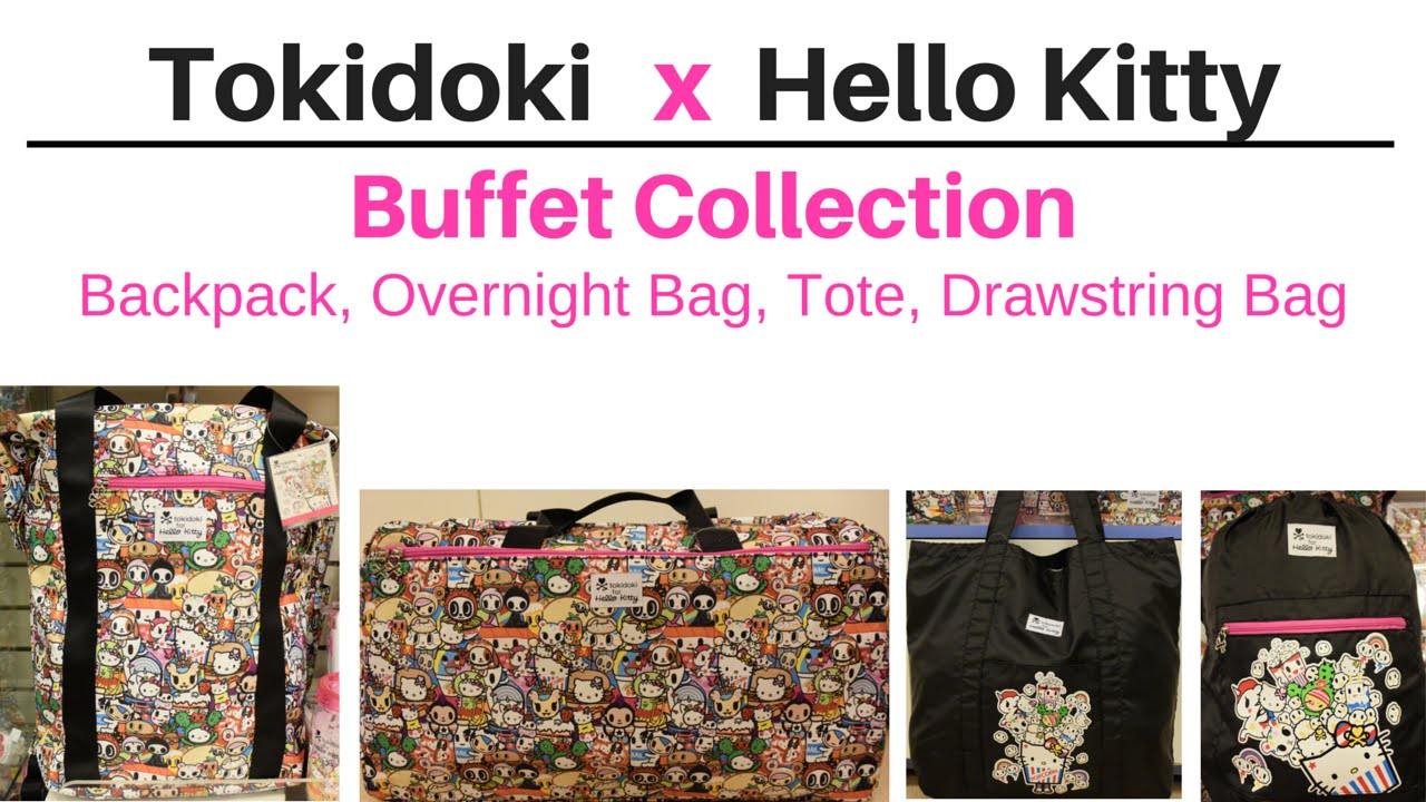 63c5064ad5e9 tokidoki x Hello Kitty Buffet Collection - Backpack