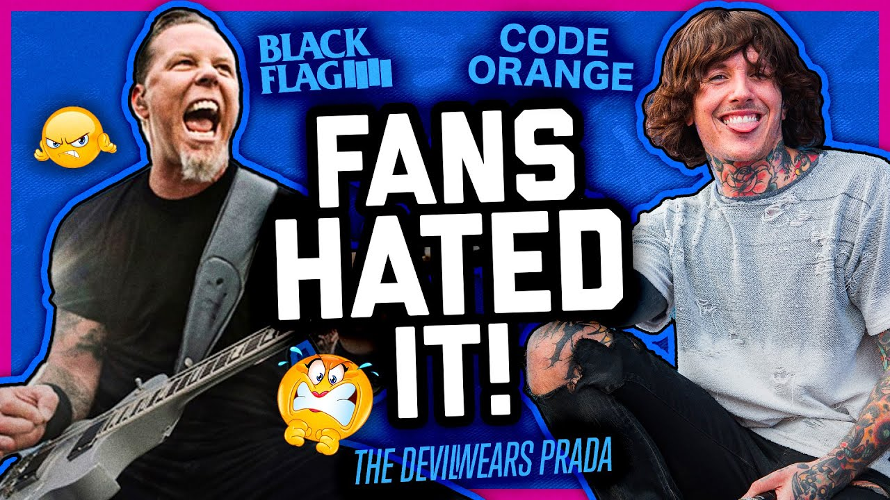 BANDS THAT CHANGED THEIR SOUND & FELL OFF (or didn't)!
