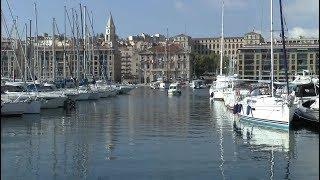 Walk around Marseille France Vieux-Port de Marseille Le Panier La Canebière