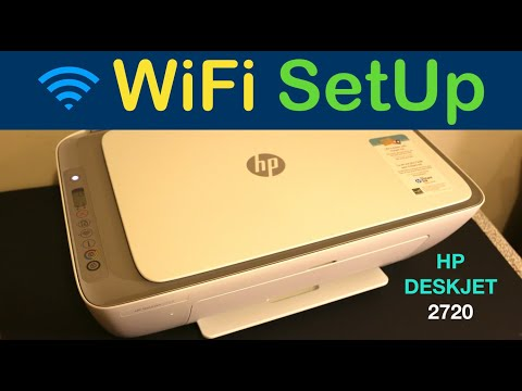 HP Deskjet 2720 WiFi SetUp, Quick Wireless Test & Review !!