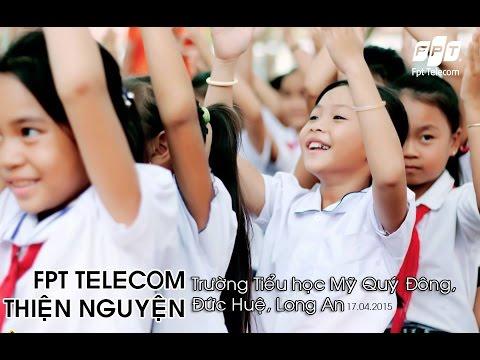 [Thiện nguyện Fpt Telecom] Trường Tiểu học Mỹ Quý Đông - Đức Huệ - Long An