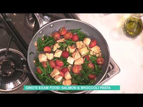 Gino D'Acampo's Salmon And Broccoli Orecchiette | This Morning